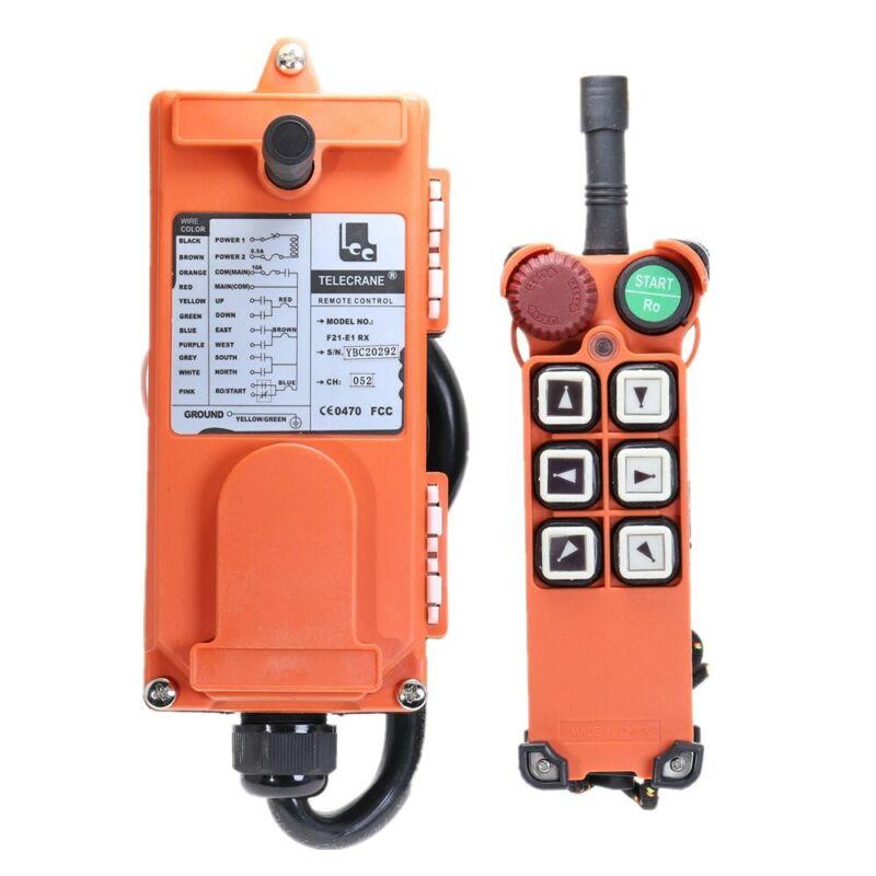 Industrial Wireless Redio Remote Control 1 for Hoist Crane  F21-E1 DC12V DC24V