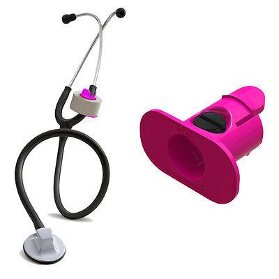 S3 Stethoscope Tape Holder Hot Pink - Littmann Adc Nursing Nurses Gift Ems Emt