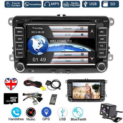 7'' Car Stereo Radio DVD Player Bluetooth GPS NAV For VW GOLF PASSAT TOURAN POLO