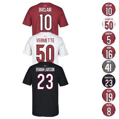 Arizona Nhl (Arizona Coyotes NHL Reebok Player Name & Number Premier Jersey T-Shirt)