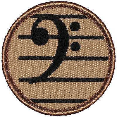 Cool Boy Scout Patrol Patch! - #782 The Bass Clef Patrol!