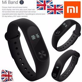 2017 Original Xiaomi Mi Band2 Miband Wristband Bracelet OLED for APPLE & Android New Sealed MiBand 2