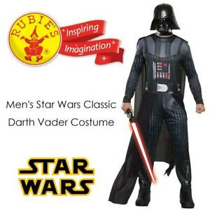 NEW Rubies Costume Mens Star Wars Classic Darth Vader Costume Condtion: New, Multi, Standard