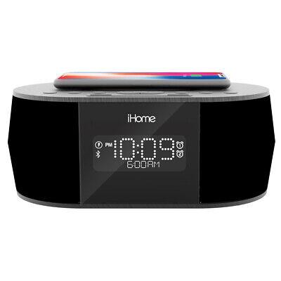 iHome iBTW38 Alarm Clock Bluetooth Stereo with Lightning iPh