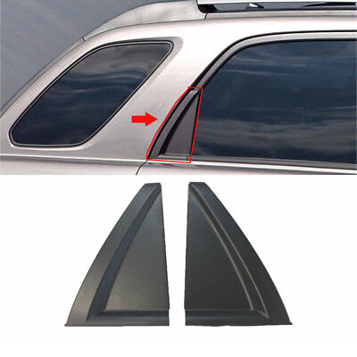 Genuine OEM Rear Door Garnish Delta Molding 2Pcs (Fits: KIA 2006-2010 Sportage) ()