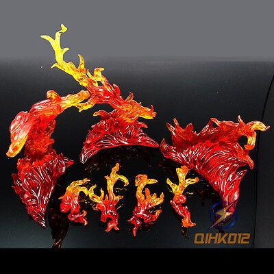 S.H.Figuarts Tamashii EFFECT BURNING FLAME (Red Ver) Fix D-Art Figma Kamen Rider