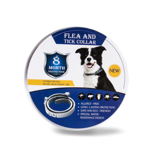 Flea / Tick Collar for Dogs Cats 3pk. (Lasts 8 Months) All Natural! ONE SIZE!