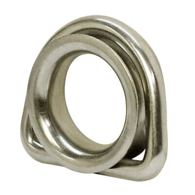 5/16 Inch Stainless Steel D Ring Thimble With Round Shave