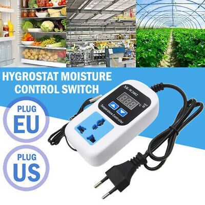 Digital Temperature Controller Control Thermostat Switch Socket 110v-220v