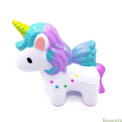 1Pc Colossal Squishy Rainbow Unicorn Slow Rising Pressure Relief Children Toys