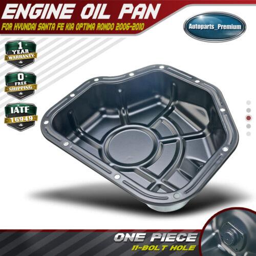 Lower Engine Oil Pan Sump For Hyundai Santa Fe Kia Optima