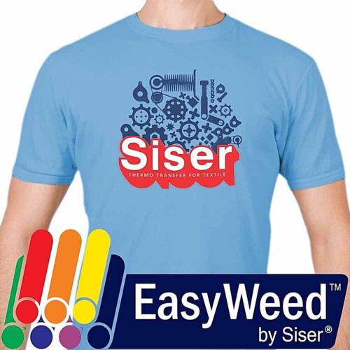 "Siser EasyWeed® HTV Heat Transfer Vinyl for T-Shirts 15"" by 12"" Sheet(s)"