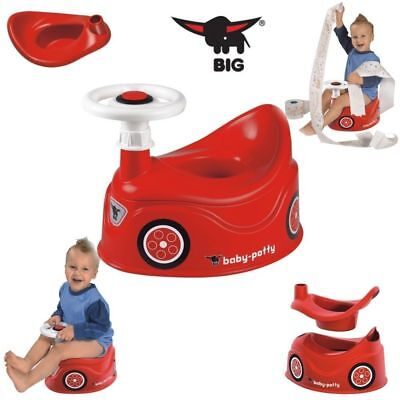 BIG Baby Potty Toilettentrainer Topf Auto mit Lenkrad Töpfchen Toilettensitz Neu