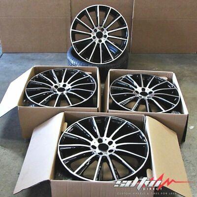 19x8.5 / 19x9.5 Wheels Fit Mercedes S430 S500 S550 E320 CL500 19 Inch Rims Set 4