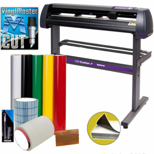 """34"""" USCutter Vinyl Cutter / Plotter, Sign Cutting Machine w/Software EXCELLENT"""
