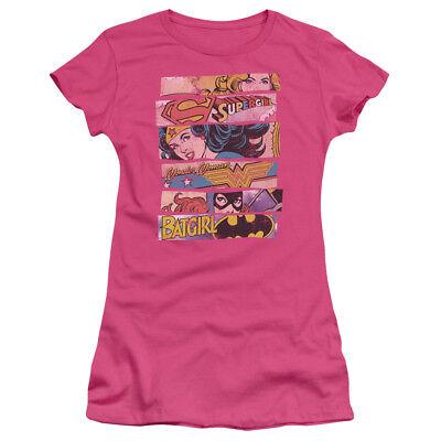 Authentic DC 3 of Kind Supergirl Wonder Woman Batgirl Ladies Soft T-shirt Jr - Batgirl T Shirt