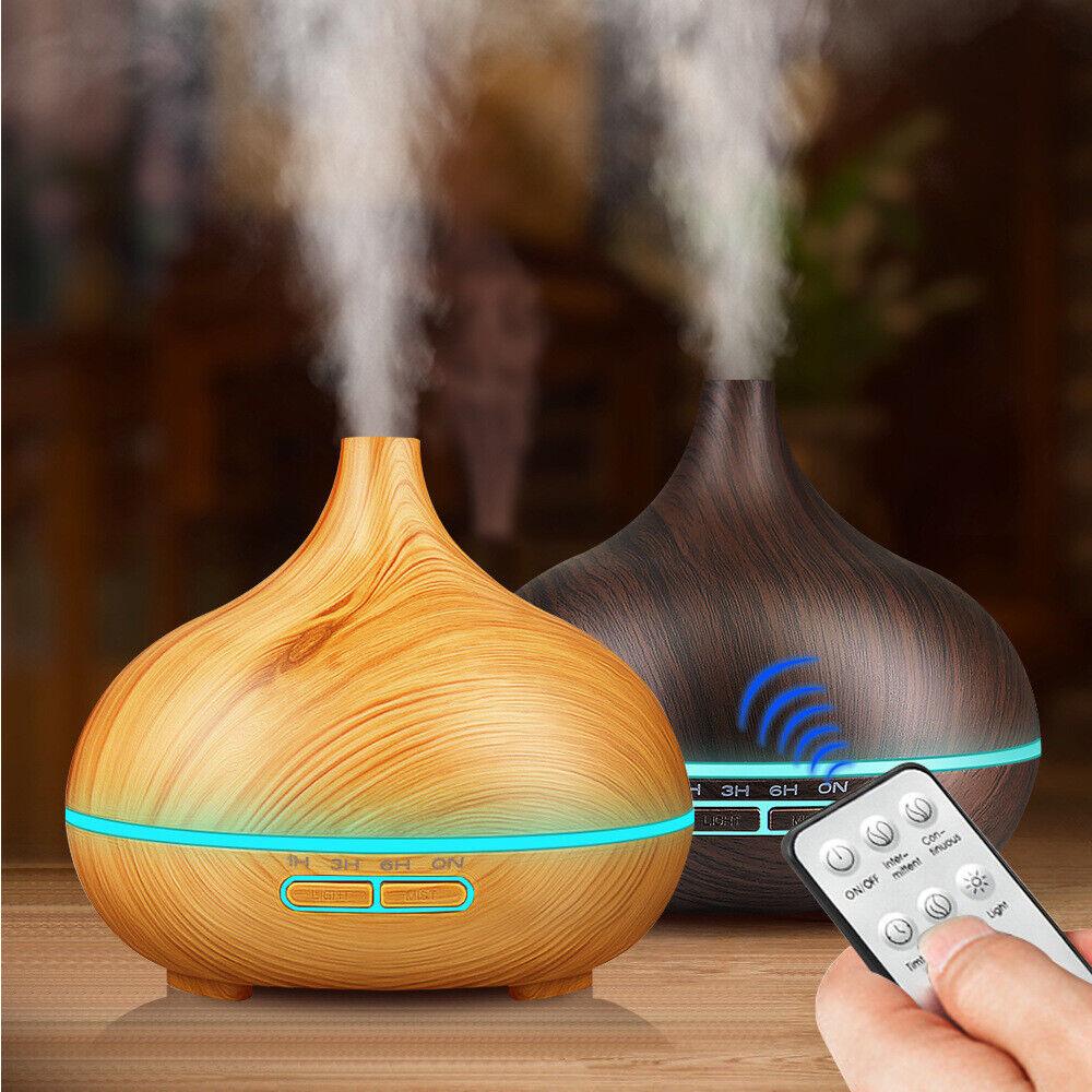 Essential Oil Diffuser 500ml Ultrasonic Aroma Diffuser Cool