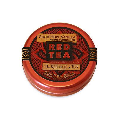 The Republic Of Tea Good Hope Vanilla Tea, 6 Tea Bags, Caffeine-Free, Gourmet Ro
