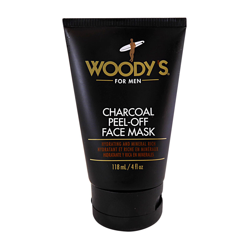 Woody's for Men Charcoal Peel-Off Face Mask 118ml 4 fl oz
