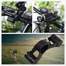 Practical Bike Flashlight Holder Handle Bar Bicycle Extender Mount Bracket Z