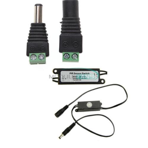for LED Strip MINI Aotomatic PIR Infrared Motion Sensor Detector Switch DC5V-24V