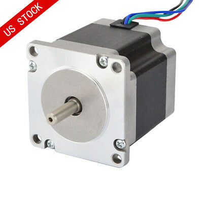 Nema 23 Bipolar Stepper Motor 0.9deg 1.26nm178.4oz.in 2.8a 57x57x56mm 4 Wires