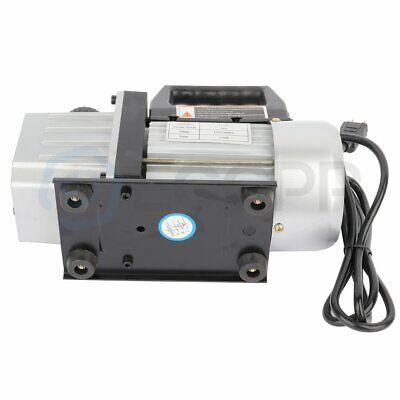 New Rotary Vane Deep Vacuum Pump Hvac Ac Refrigerant Charge 110v 12 Cfm 6 Hp
