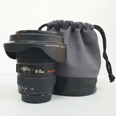 # Canon EF 16-35mm f/2.8 L USM Lens w/pouch s/n 420287