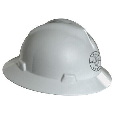 Klein Tools 60031 V-gard Hard Hat Klein Lineman Logo White