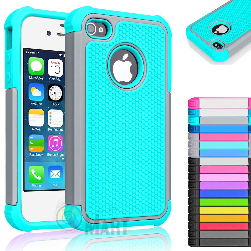 For iPhone SE 5 5S Slim Hybrid Shockproof Armor Impact Hard Case Cover