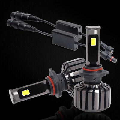 2X 9005 HB3 LED Headlight White Lamp Bulbs Conversion Kit CREE COB Car 6000K US