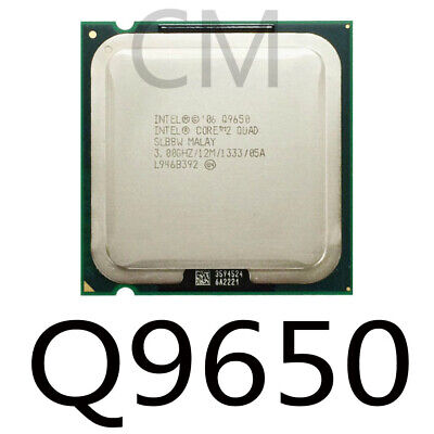 Intel Core 2 Quad Q9650 CPU  LGA775 FSB1333 45nm Good condition, usado segunda mano  Embacar hacia Spain