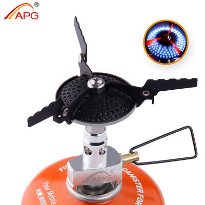 Camping Propane Stove Best Anti-scald Small Outdoor Gas Burners Cookware New (Best Stainless Steel Gas Stove)