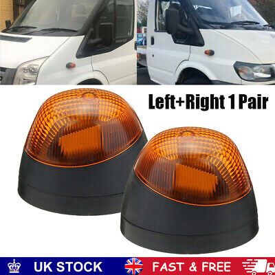 Front Right Left Side Indicator Repeater Lights for Ford Transit MK6 MK7 00-14