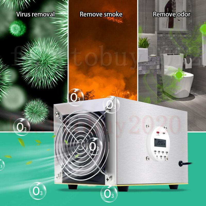 10000mg/h Ozone Generator Machine Commercial Air Purifier Ionizer Ozonator 110V