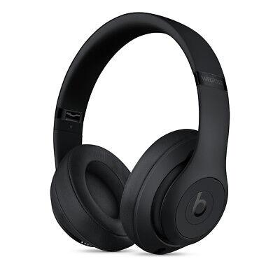 Authentic Beats Studio3 Wireless Over‑Ear Headphones - Matte Black