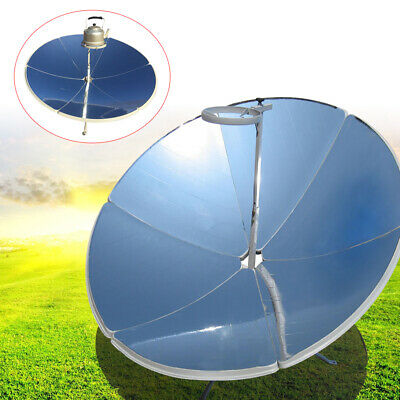 "Super Large Diameter 6/""O.D.Solar Oven Cooker Evacuated Tube Solar E Chef wit Lid"
