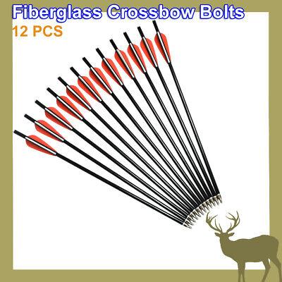 Crossbow Bolts Targets Hunting Arrows 12 14 16 18 Shooting FLAT Nocks 12 pcs HN