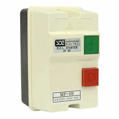 Three Phase Starter - Three 3 Phase Magnetic Starter Control Switch