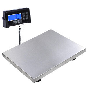 440lbs 3 Unit Digital Postal Shipping/Pet Floor Bench Scale Platform Vet Animal