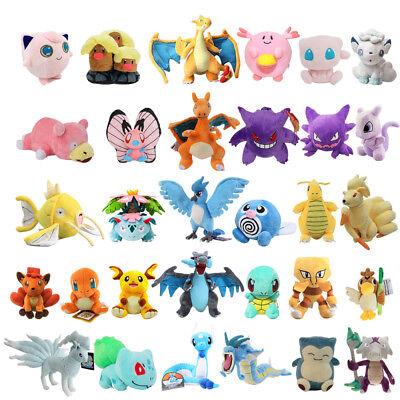 Pokemon Red Version And Blue Version Soft Figure Stuffed Plush Toy 5