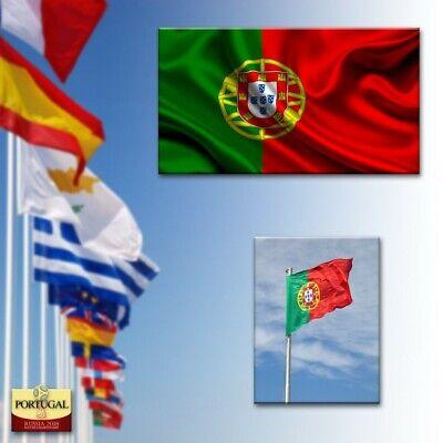 BANDERA DE PORTUGAL 90x150CM BANDERA PORTUGUESA POLIESTER ADAPTA A MASTIL WM2018