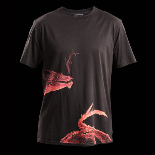 Weta Smaug Black Unisex T-shirt 3XL New Hobbit Lord Of The Rings
