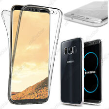 Coque Intégrale Avant Arrière Silicone INVISIBLE Transparent Samsung Galaxy S8