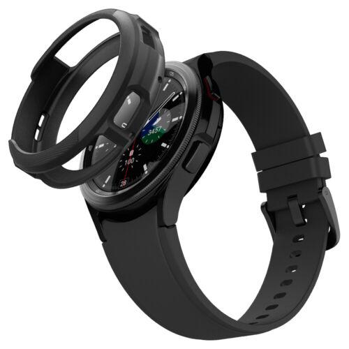 Galaxy Watch 4 Classic Case | Spigen ®[ Liquid Air ] Shockproof Slim Matte Cover