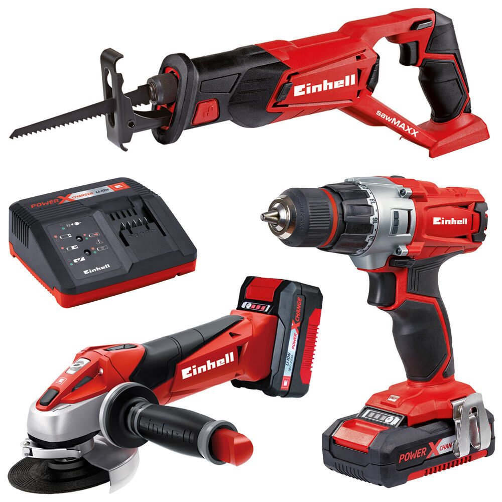 einhell 18 volt power x change werkzeug akkuschrauber winkelschleifer s bels ge eur 189 99. Black Bedroom Furniture Sets. Home Design Ideas