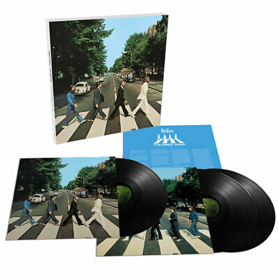 The Beatles - Abbey Road (2019 Anniversary Edition) 3LP Box Set Vinyl Record NEW