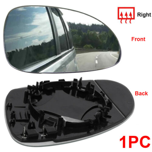 Right driver side Silver Wing mirror glass