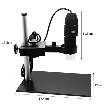 1000x Camera 8led Usb Digital Microscope Magnification With Holder Stand F5i8