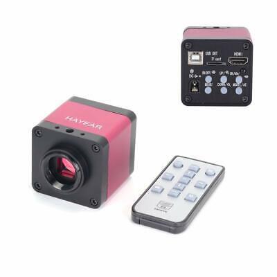 48mp Tv Hdmi Usb Industry Digital C-mount Microscope Camera Tf Video Recoder Dvr